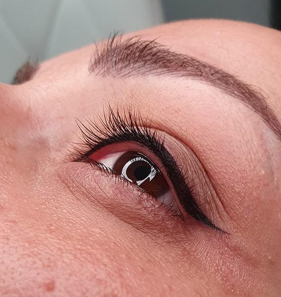 میکروپیگمنتیشن چشم چیست   میکروپیگمنتیشن خط چشم   آموزش میکروپیگمنتیشن خط چشم